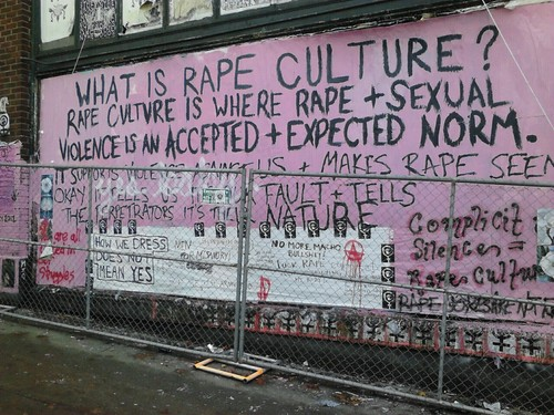 Seattle Rape Culture Graffity