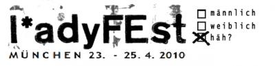 Ladyfest München Logo